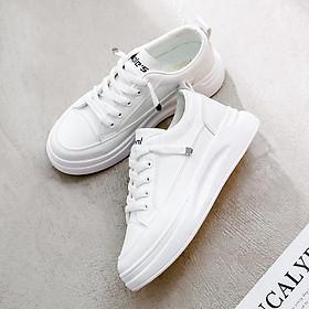 Giày sneaker nữ màu trắng dễ phối đồ DONSUPER