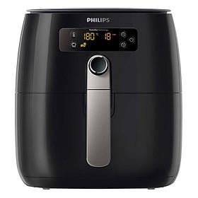 Nồi Chiên Không Dầu Điện Tử Philips HD9643 - Đen (0.8kg) - Hàng Chính Hãng