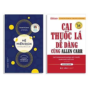 Combo Sách : Hệ Miễn Dịch - Khám Phá Cơ Chế Tự Phòng Chữa Bệnh Của Cơ Thể Người + Cai Thuốc Lá Dễ Dàng Cùng Allen Carr