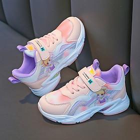 Giày đi học bé gái - Giày thể thao bé gái, mẫu mới nhất TTV49