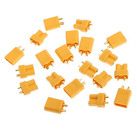 10Pair XT30 Female Male Connector Sockets for RC Drone Battery ESC Charger - intl
