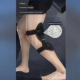 Knee Protection Brace Power Powerful  Pads Sports Leg Band Lift Old