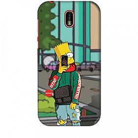 Ốp lưng dành cho điện thoại NOKIA 1 Bart Simpson