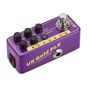 Mooer MICRO PREAMP Series 019 UK Gold PLX Digital Preamp Preamplifier Guitar Effect Pedal Cabinet Simulation Dual