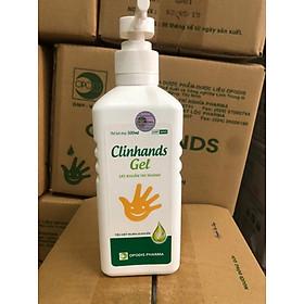 Nước rửa tay sát khuẩn khô nhanh Clinhands Gel 500ml
