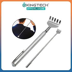 Cây gãi lưng KingTech có thể điều chỉnh độ dài - Dụng cụ chống ngứa làm bằng thép không gỉ