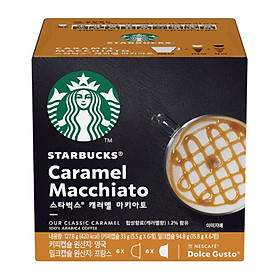 Starbucks Capsule Coffee for Dolce Gusto