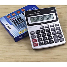 Máy tính học sinh, máy tính tính tiền số to KK-800A full box