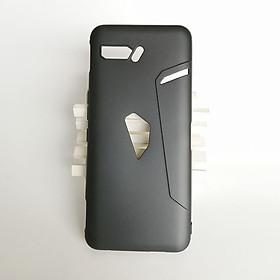 Ốp lưng cho Rog Phone 2 dẻo đen cao cấp