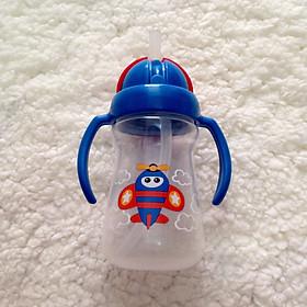 Bình tập uống nước có tay cầm Upass ( 150ml ) - Tặng kèm 01 bát inox 16cm