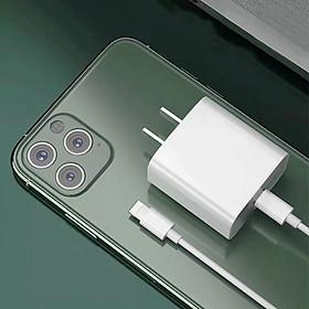 Bộ cáp sạc nhanh 20W chuẩn PD - Cho iPhone Xs max/ 11/ 11Pro max/ 12 Pro/ 12 Pro max...