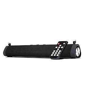 Portable Desktop Bluetooth Speaker Sound Bar 2 * 8W Bass Subwoofer With Shoulder Strap Wireless Remote Control Support
