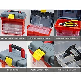 Tủ Đựng Linh Kiện G215 Chuyên Đựng Ốc Vít, Mũi Khoan, Linh Kiện Điện Tử, Vật Dụng Nhỏ