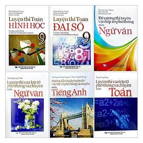 Combo 6 Cuốn Sách Tuyển Sinh Lớp 10 Tinh Gọn - Dễ Học - Nắm Kiến Thức