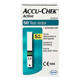 Que Thử Đường Huyết Accu-chek Active 50