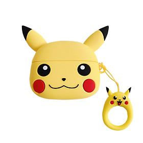 Vỏ Bao Silicon Bảo Vệ Case Cho Airpods Pro - Hình Pikachu Dễ Thương