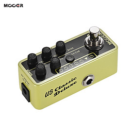 MOOER MICRO PREAMP Series 006 US Classic Deluxe American Blues Combo Digital Preamp Preamplifier Guitar Effect Pedal