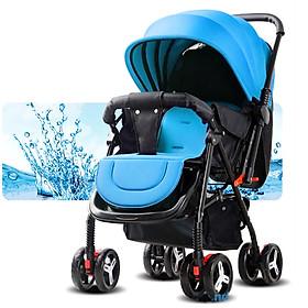 Xe đẩy cho bé, xe đẩy em bé, Xe đẩy trẻ em 2 chiều 3 tư thế, xe đẩy du lịch, xe đẩy gấp gọn TẶNG NGAY BỘ ĐỒ CHƠI NÚM GỖ CHO BÉ CHỦ ĐỀ NGẪU NHIÊN