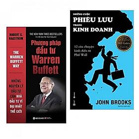 Combo Phương  pháp đầu tư Warren Buffett + Những  cuộc phiêu lưu trong kinh doanh -Tặng kèm bookmark PD