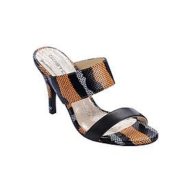 Guốc Da Thật 7 Phân Gosto Leather Minimalist Sandal GDW018500ORA (Cam)