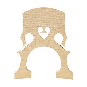High Quality Maple Cello Bridge Replacement for 1/2 Cello