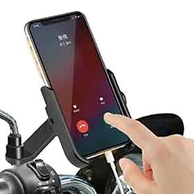 Giá đỡ kẹp điện thoại cho xe máy / xe mô tô Selfiecom A1000 - Hợp Kim Nhôm Cao Cấp Chống Rung, Chống Cướp Giật Điều Chỉnh Xoay Ngang Dọc 360 độ