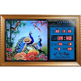 Đồng hồ lịch vạn niên Cát Tường 55308