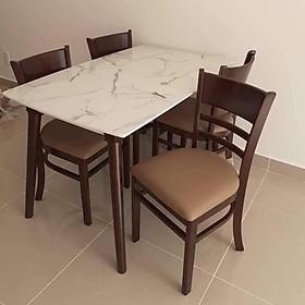 Bộ bàn ăn 4 ghế cao cấp