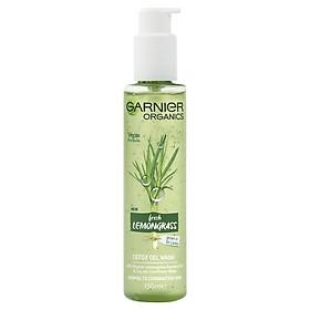 Garnier Organics Fresh Lemongrass Detox Gel Wash 150ml