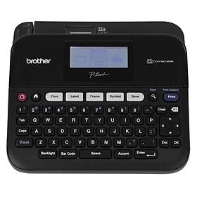 Máy in nhãn văn phòng Brother PT-D450, in nhãn khổ ngang 6,9,12,18 mm, kết nối PC - Hàng Chính Hãng