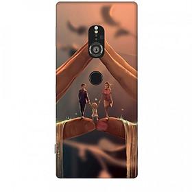 Ốp lưng dành cho điện thoại SONY XZ2 Hạnh Phúc Bên Em