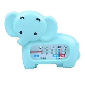 Nhiệt kế đo nhiệt độ nước tắm hình chú voi (Xanh)