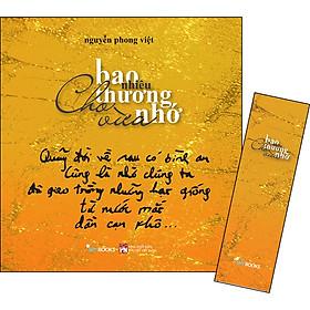 Bao Nhiêu Thương Nhớ Cho Vừa - Thơ (Tặng Kèm Bookmark)