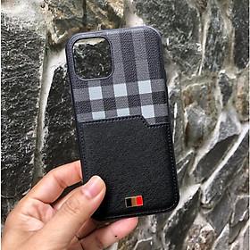 Ốp lưng da dành cho iPhone  12/ 12 Pro / 12 Pro Max