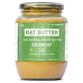 Bơ Đậu Phộng Nguyên Chất Xay Mịn Đạt Butter (500g)