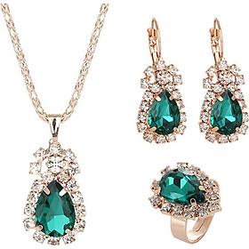 Women'S Fashion Jewelry Set Charm Pendant Gold Valentine'S Day Women Girl Gifts