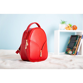 Balo thời trang YUUMY BL023 nhỏ xinh, da tổng hợp bền đẹp, thiết kế thời trang hàn quốc, hợp xu hướng kích thước 24x8x21cm - nhiều màu