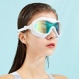 Kính Bơi Tráng Gương Dành Cho Người Lớn Và Trẻ Em HA-2202 Chống Nước, Sương Mù, Tia UV Bảo Vệ Tối Đa Đôi Mắt Của Bạn (Giao Màu Ngẫu Nhiên)
