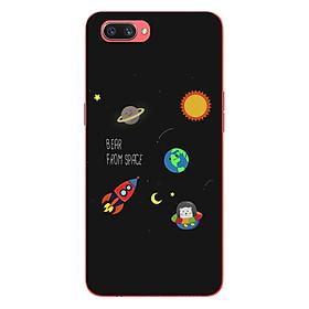 Ốp lưng dẻo cho điện thoại Oppo A3s_0510 SPACE06 - Hàng Chính Hãng