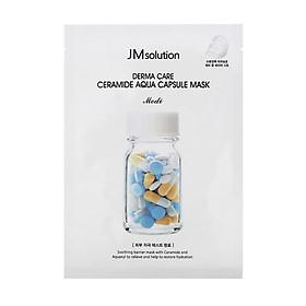 Mặt Nạ Cấp Ẩm, Phục Hồi Da Khô JM Solution Derma Care Ceramide Aqua Capsule Mask 30ml