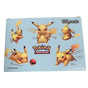 Bộ Thẻ Bài Pokemon 120 Thẻ (115Gx+5Mega) Chơi Đối Kháng New Đẹp