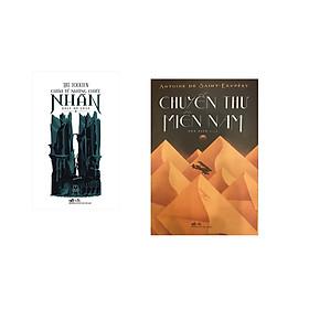 Combo 2 cuốn sách: Chúa tể những chiếc nhẫn, tập 1 - Đoàn hộ nhẫn   + Chuyến thư miền nam