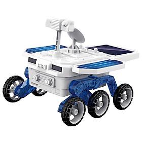 Bộ đồ chơi giáo dục sớm STEM tự làm xe thám hiểm sao hỏa 4WD bằng năng lượng mặt trời và chạy pin dành cho trẻ từ 6 tuổi trở lên