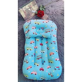 Đệm ngủ thông minh cho bé - Màu xanh oto
