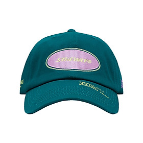 Nón Lưỡi Trai 5THEWAY Xanh Lá aka 5THEWAY /oval/ Unstructure Washed Dad Cap in STORM