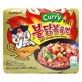 Lốc 5 Gói Mì Cà Ri Samyang Hàn Quốc (140g / Gói)