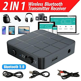 Bluetooth 5.0 Audio Receiver Transmitter AUX RCA 3.5MM 3.5 Jack USB Music Stereo Wireless Adapters Dongle
