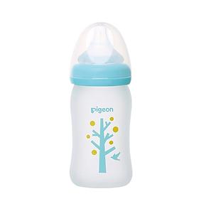 Bình thủy tinh đựng sữa cho bé sơ sinh Pigeon (Phiên bản giới hạn)