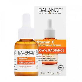 Tinh Chất Giảm Thâm, Trắng Da Balance Active Formula Vitamin C Brightening Serum 30ml