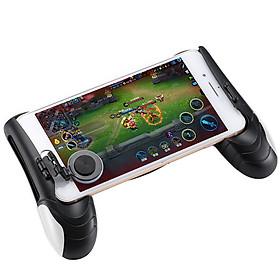 Tay Cầm Game Có Nút Di Chuyển Joystick Cho Điện Thoại Liên Quân Mobile, Pubg, Ros, Free Fire Controller Xách Tay Bracket IOS Android